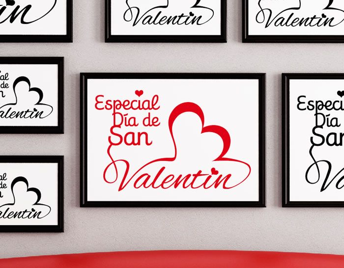 Vinilos decoracion escaparates san valentin baratos for Decoracion para san valentin