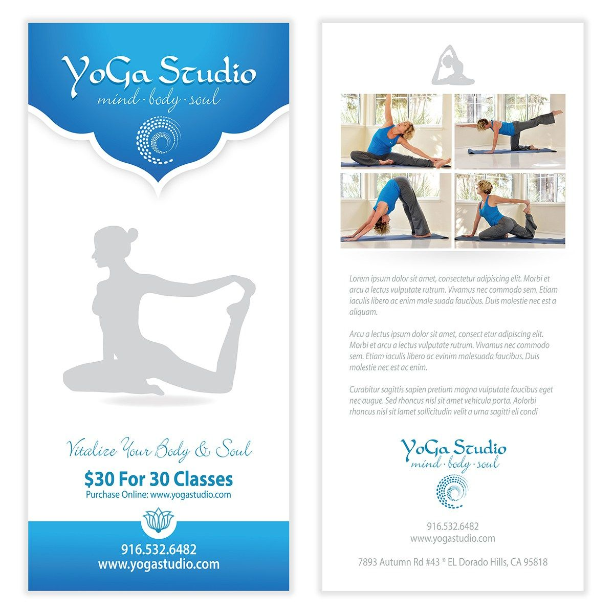 Yoga Flyer Template   Flyer  Poster Templates