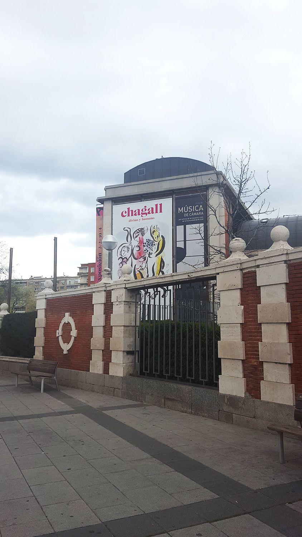 """Cartel de la expo """"Chagall: divino y humano"""" en la Fundación Canal  #Madrid #Cartel #Affiche #Arterecord 2016 https://twitter.com/arterecord"""