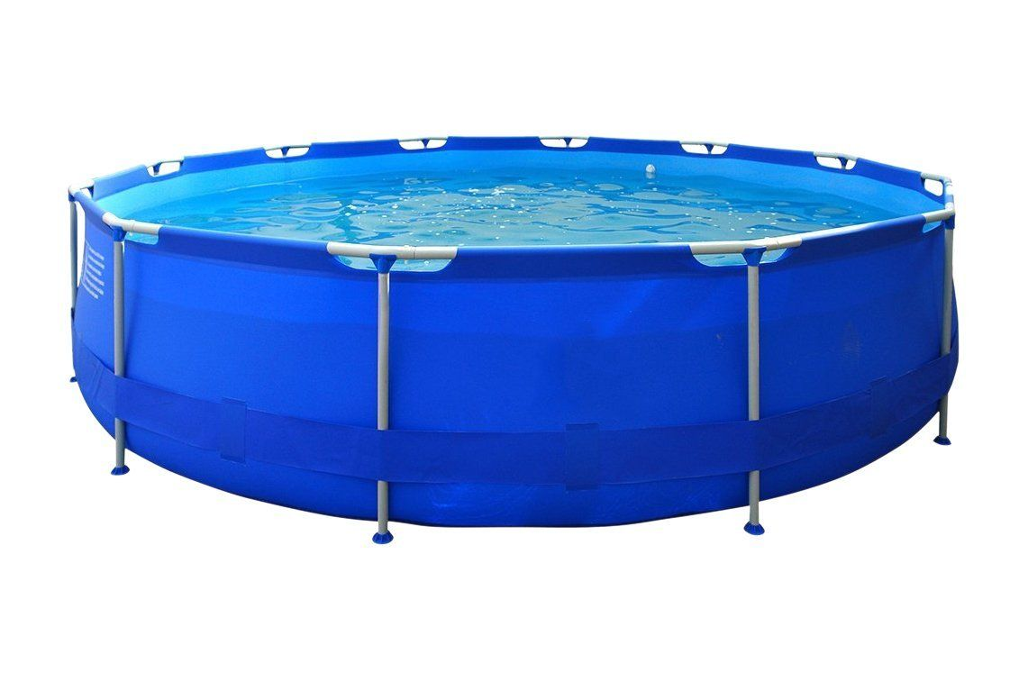 Pool Filteranlage Solar Jilong Jl017236ng Round Pool With Structure Blue Undefined