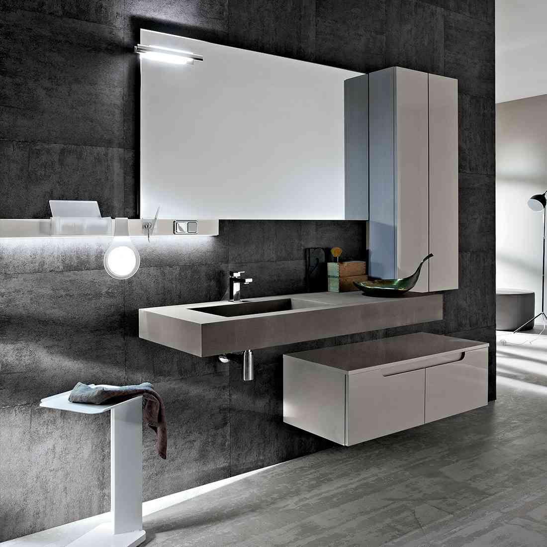 Bagno design ryo e collezione arredo cerasa bathrooms for Bagno arredo design