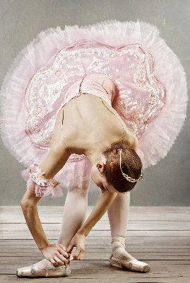 """Ballerina Pretty in Pink Tutu - The Glory Days of Blood, Sweat & yes, a few Tears #dance"""