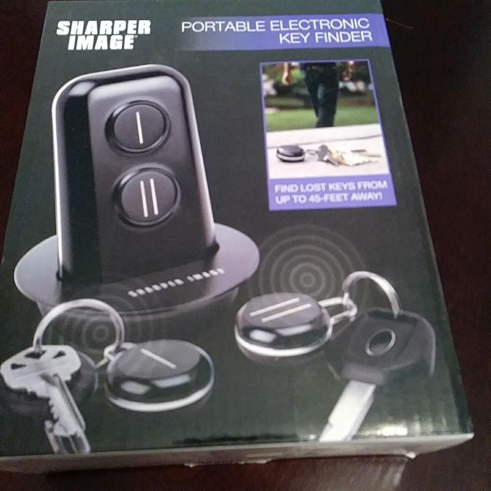 Nib Sharper Image Portable Electronic Key Finder Unisex