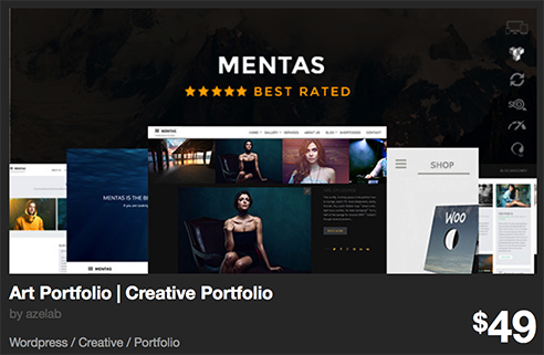 30 geniales Portfolio WordPress Themes en ThemeForest