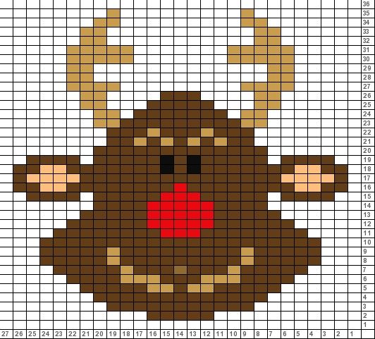 Tricksy Knitter Charts: xmas reindeer (57869) (70235) (70393 ...