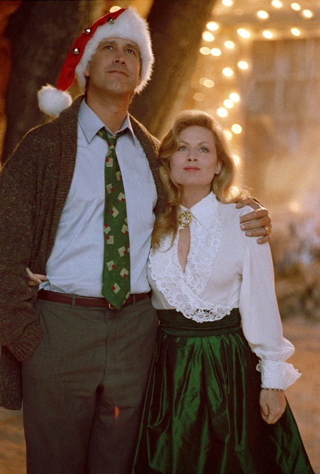 Griswold Christmas.Keyhole In Your Blouse Right Around Your Decolletage