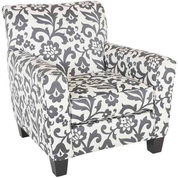 Levon Floral Accent Chair By Ashley Furniture Is Now Available At