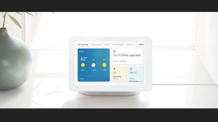 قامت Google بتجديد واجهة مستخدم Smart Displays الخاصة بها Smart Home Control Google Nest Touch Control