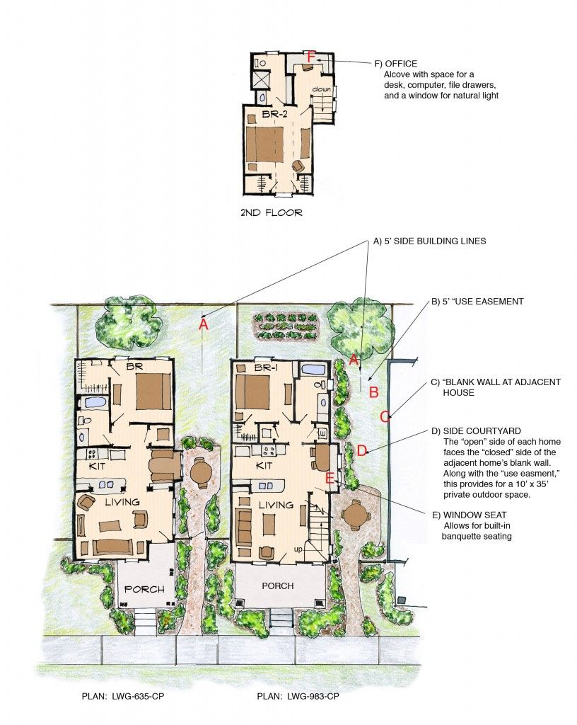 Lwg Floor Plans With Bullets Cluster House Tiny House Floor Plans Bungalow