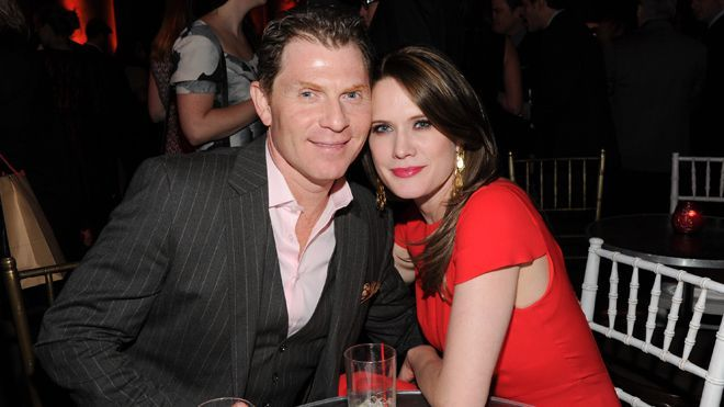 "Chef Bobby Flay and actress Stephanie March attend the HBO ""Girls"" premiere after-party at Capitale on Jan. Description from newser.com. I searched for this on bing.com/images"