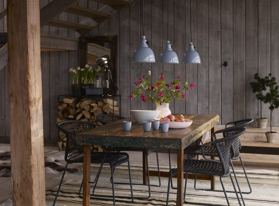 Room InteriorUrban Rustic Dining