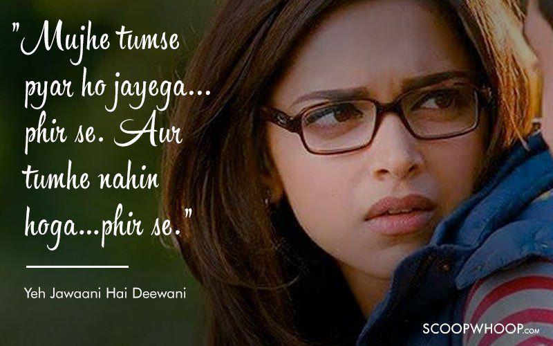From Om Shanti Om to Bajirao Mastani...   Bollywood quotes ...