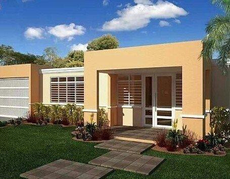 Colores para frentes de casas casas amarillas for Nuevos colores de pinturas para casas