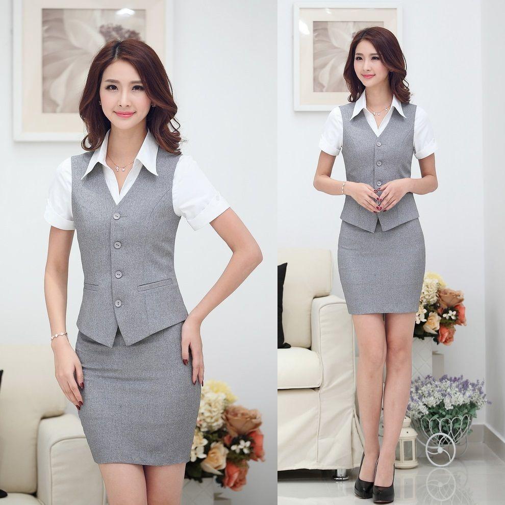 ce72ae2e27fa Resultado de imagen para chalecos para oficina mujer | ideas | Traje ...