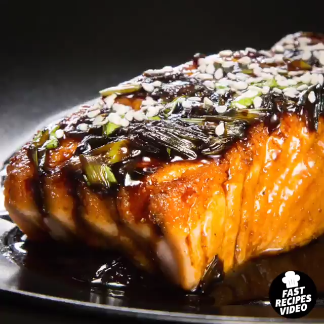 Tasty Salmon Teriyaki Recipe #salmonteriyaki Do you wanna cook tasty salmon teriyaki?  Here is recipe for you. You must trt it! #salmonteriyaki