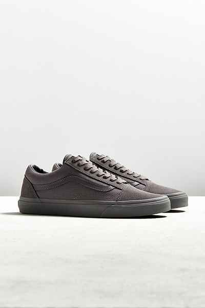 a0e920123d2 Vans Old Skool Mono Sneaker | Clothes/ fashion | Mens grey dress ...