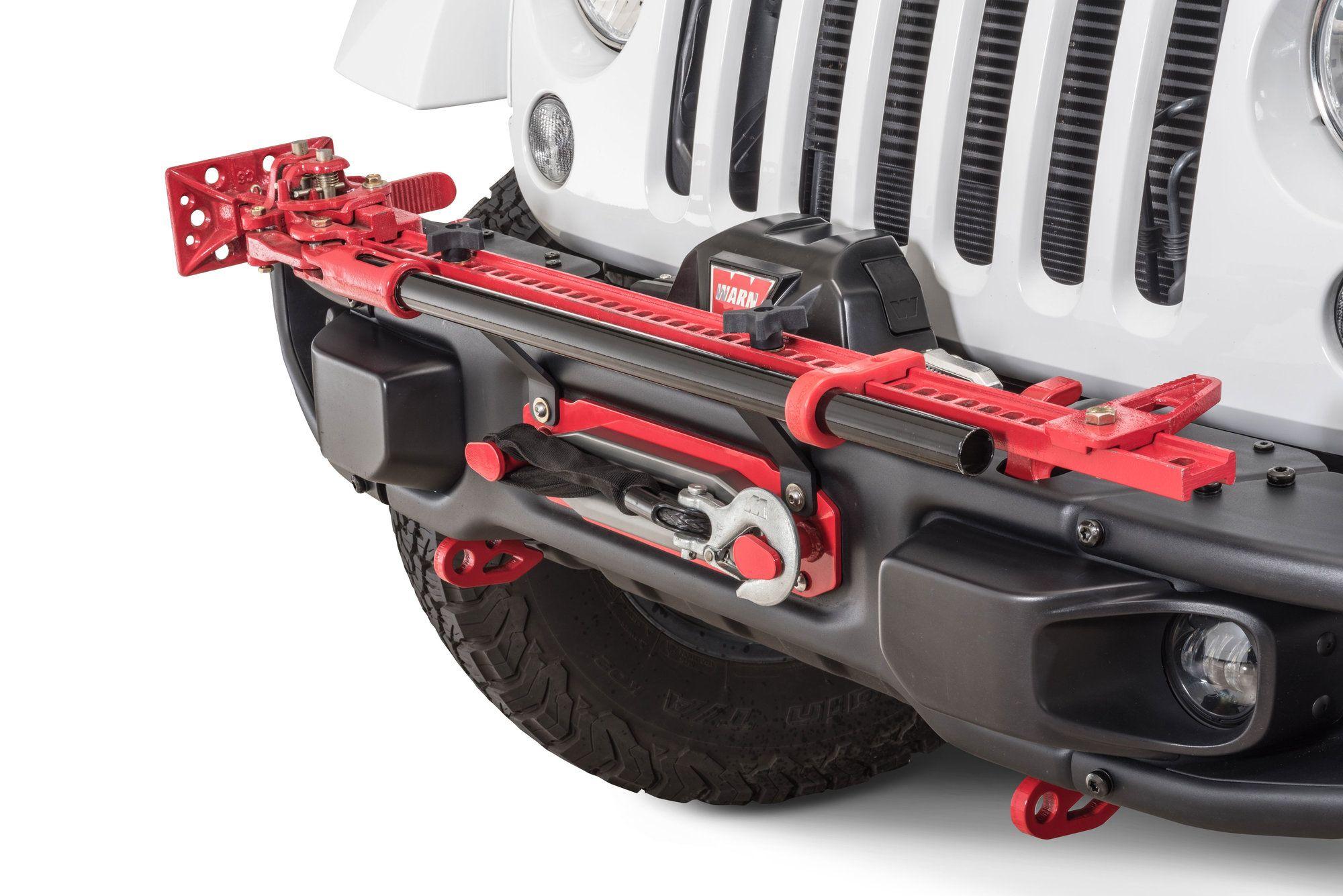 Maximus 3 0400 025 Fhjm Hi Lift Jack Mount For 13 17 Jeep Wrangler