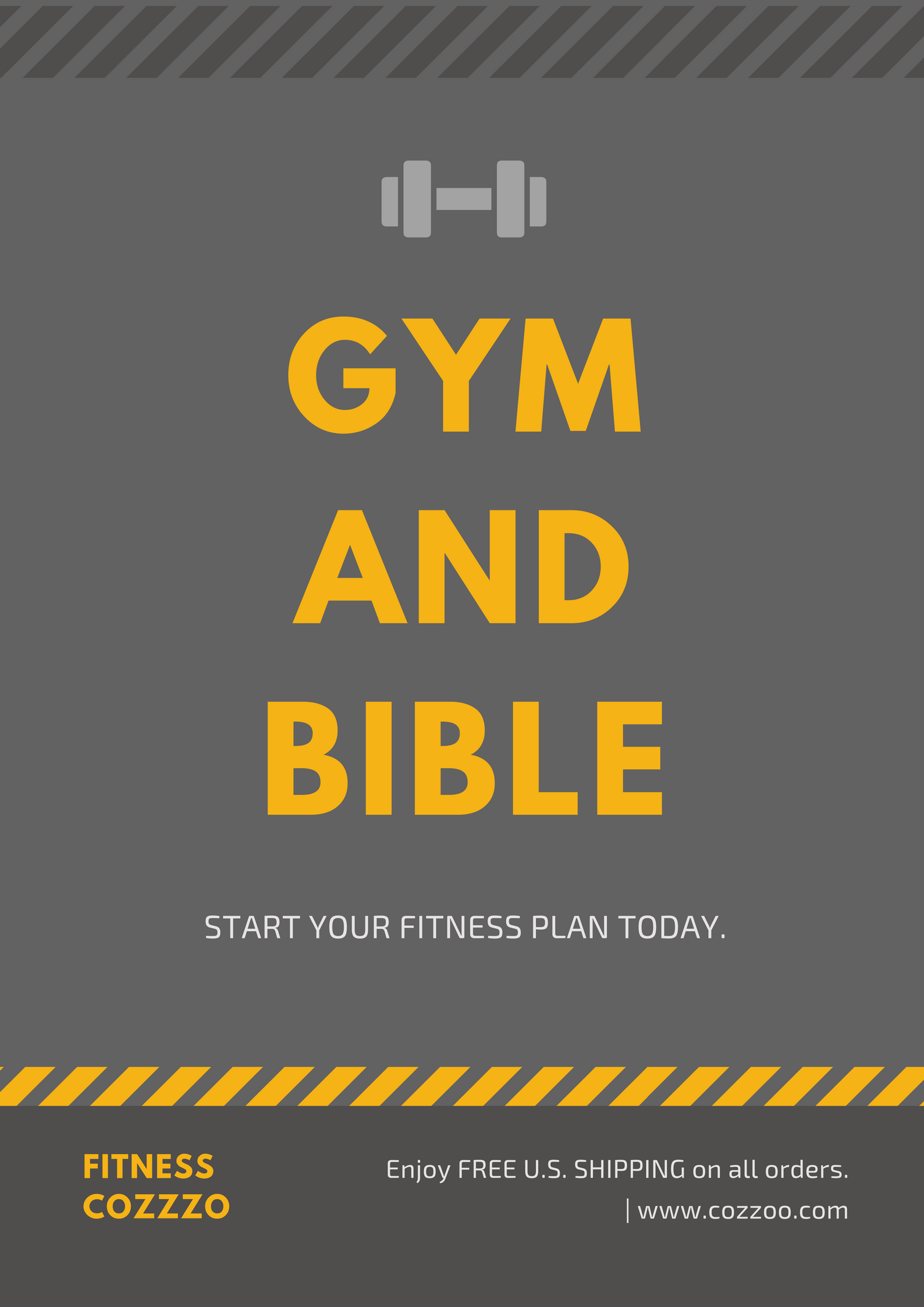 Gym And Bible Fitness T Shirt
