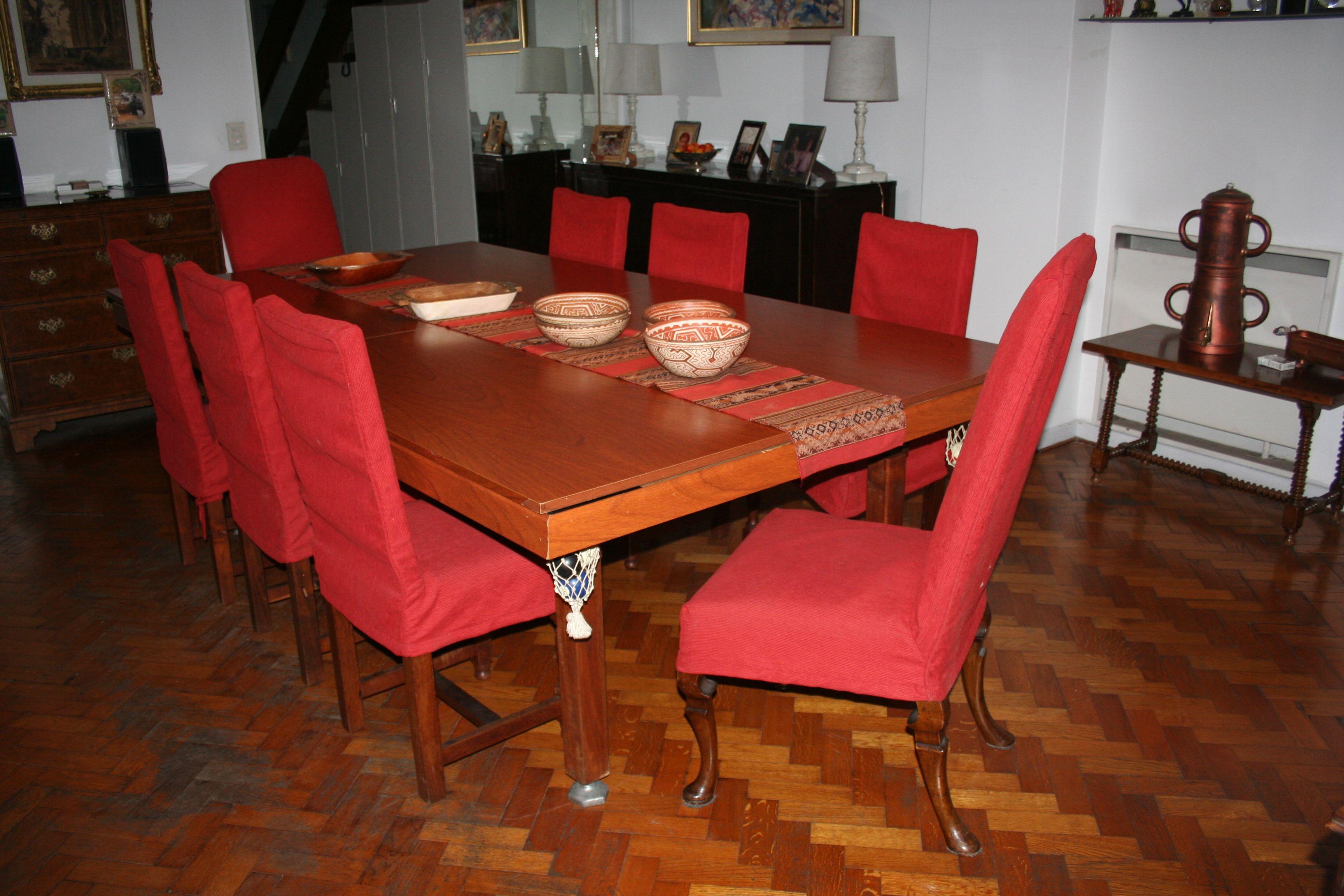 Dise o de comedor fundas de sillas para comedor y - Fundas asiento sillas comedor ...
