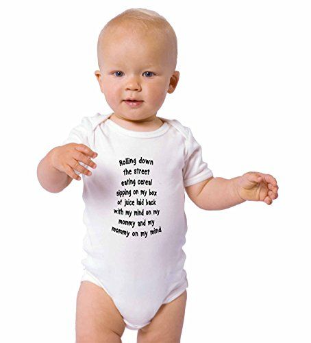 Rolling Down Street My Mind On My Mommy On My Mind Infant Baby Bodysuit One Piece  http://www.beststreetstyle.com/rolling-down-street-my-mind-on-my-mommy-on-my-mind-infant-baby-bodysuit-one-piece/