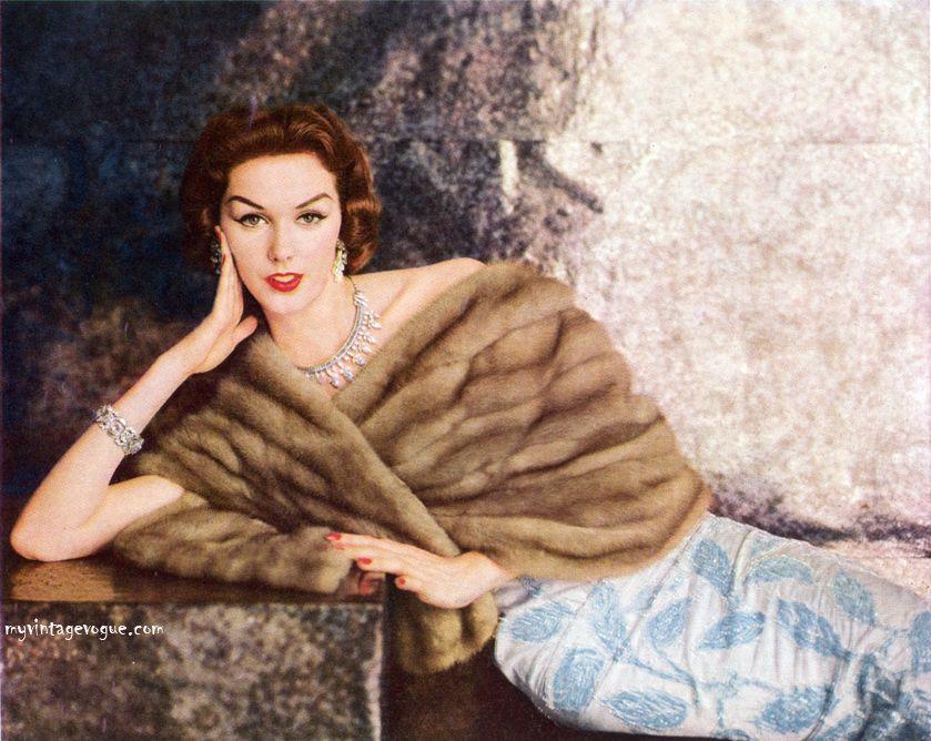 1956.my mom wore mink stoles