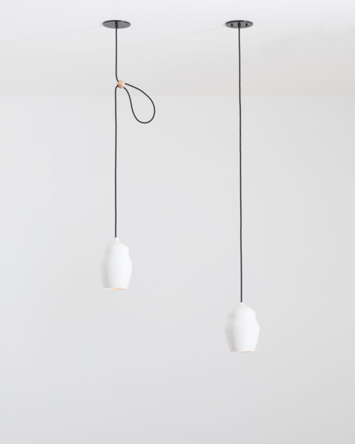 Current collection hand made porcelain lighting from portland or remodelista