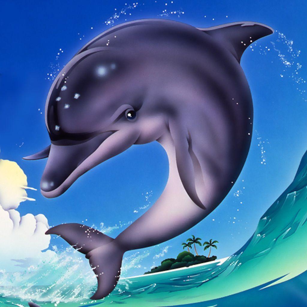 Картинки сказочного дельфина