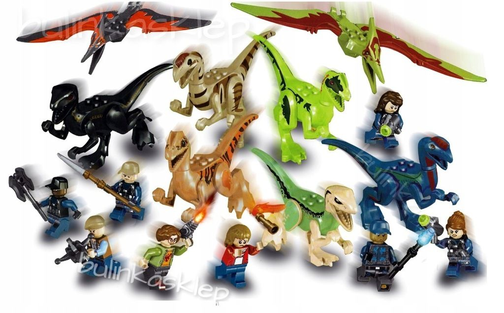 Jurassic World Dinozaur Raptory 16szt Wys24 8056850509 Allegro Pl Jurassic World Gifts For Kids Jurassic