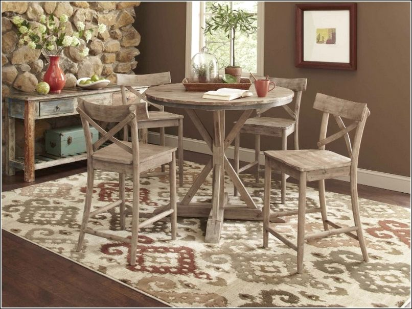 36 Inch Round Dining Table Chairs Are A Part Of The Overall Design From