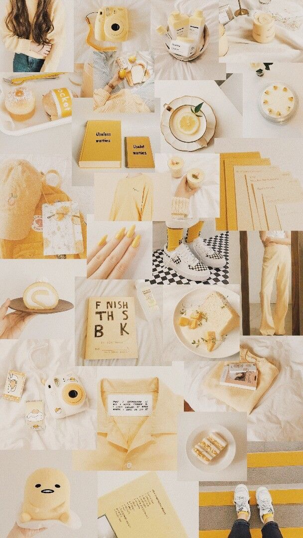 See more ideas about wall collage, photo wall collage, picture collage wall. #wallpaper #aesthetic #yellow #yellowwallpaper #collage ...