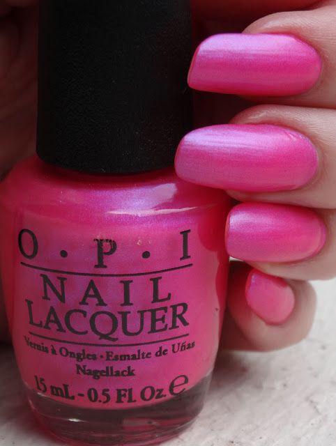OPI hotter than you pink @opi