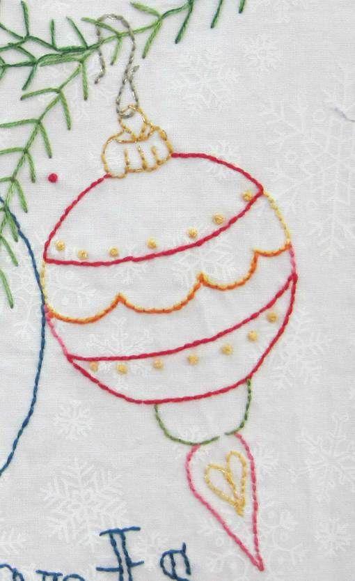Snowmen A to Zzzz | Navidad y Bordado