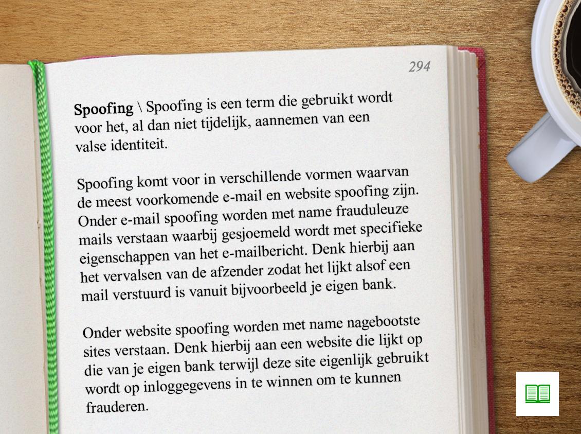 Een woord dat je steeds vaker hoort: spoofing. Heb jij nog handige tips om veilig te internetten?