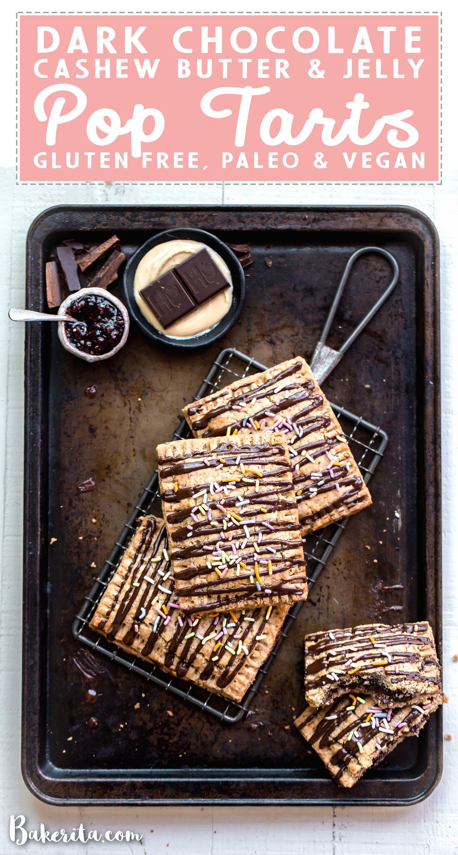 Chocolate Cashew Butter Jelly Pop Tarts Recipe Pop Tarts