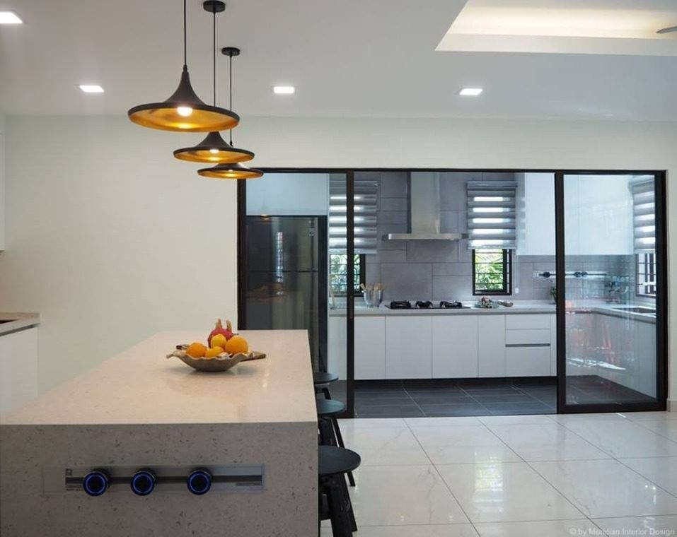 14 Practical Wet And Dry Kitchens In Malaysia Kitchen Ideas Malaysia Modern Kitchen Design Kitchen Interior