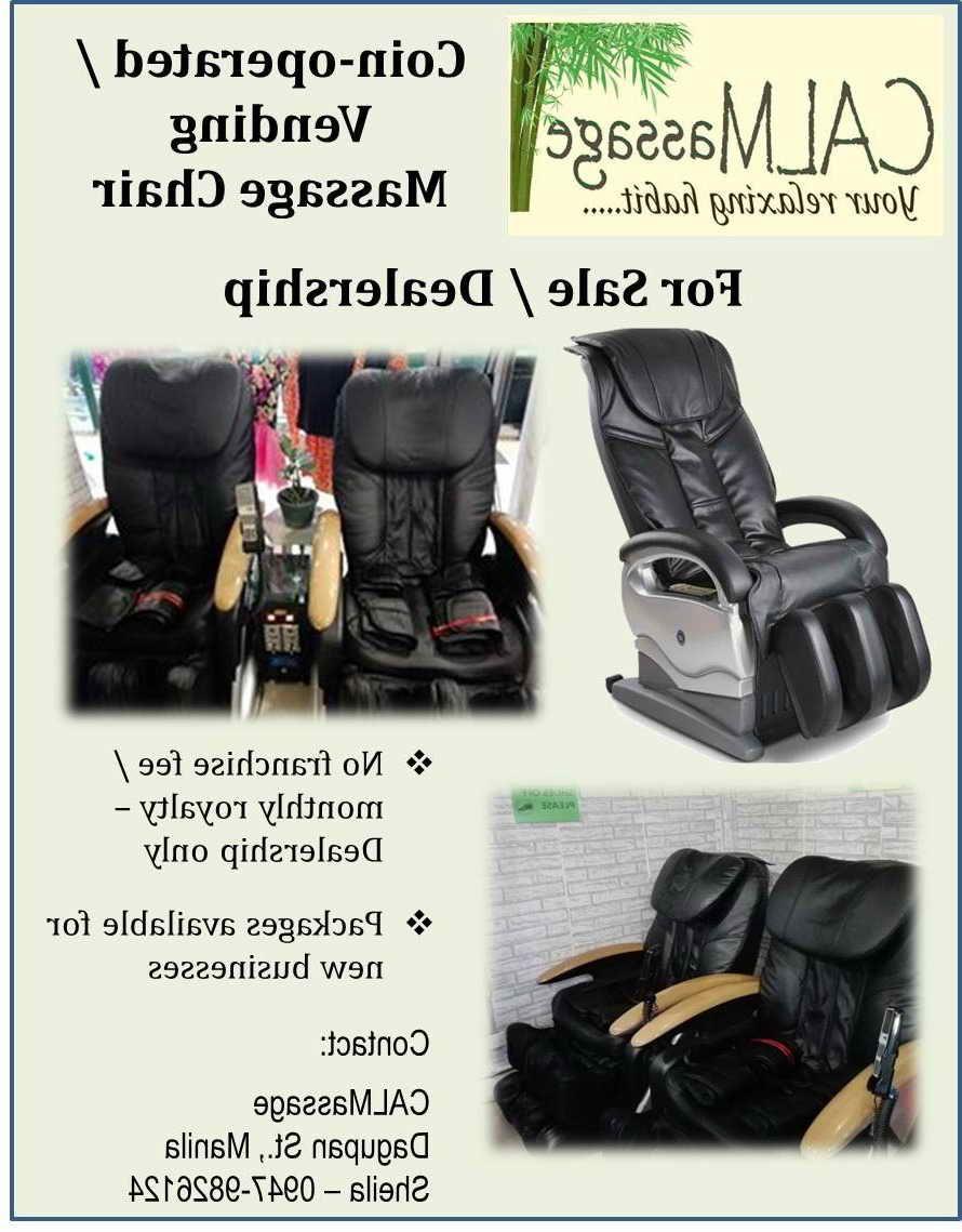 Vending Massage Chair Philippines