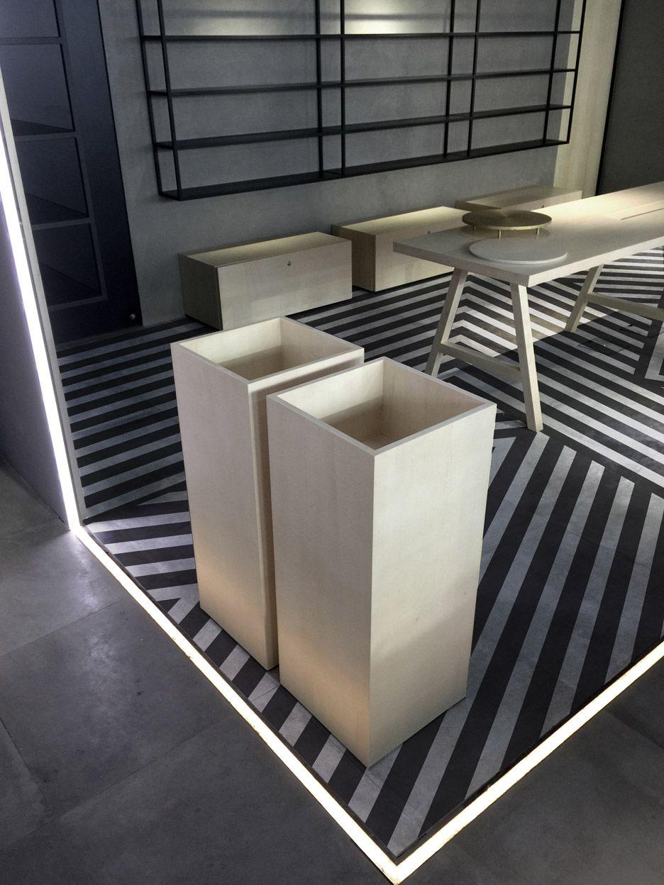 Aurelien Barbry Adds Striped Floor To Facesss Hong Kong Lab - Cuisine barbry