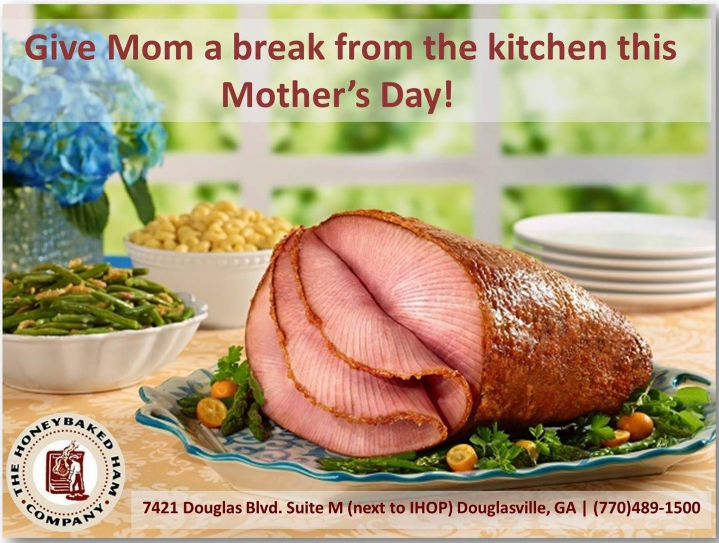 Honeybaked ham douglasville wham bam thank you ham our top 5 easter dinner doesnt have to be a time consuming drag here are 10 tips for making easter dinner easier negle Images