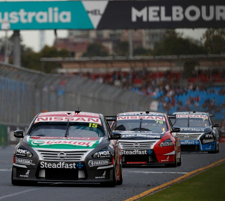 Nissan Motorsport Rick Kelly 2017 AGP Melbourne V8