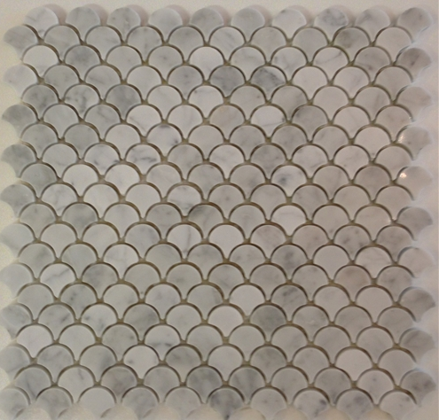 Scallop Marble Tile Mosaic Stone