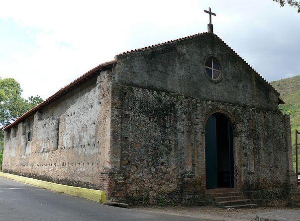 Templo Colonial San Miguel de Guanaguana ubicado en Guanaguana - Estado Monagas - Venezuela