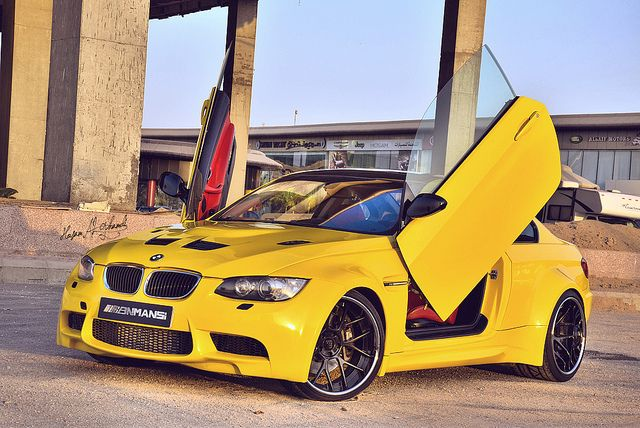 2008 Bmw 335i Coupe Wide Body Kit With Lambo Doors Cor Forged