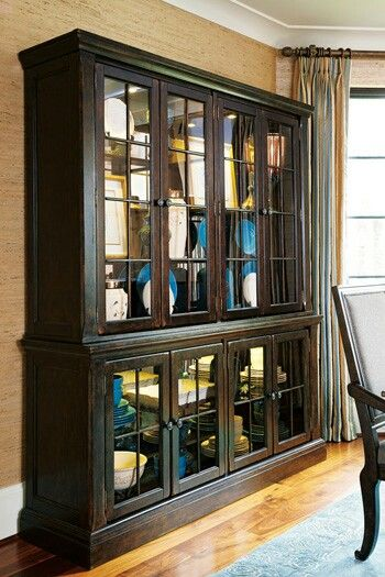 Charming Roddington China Hutch From Ashley Furniture Home Store. Perfect Amount Of  Space For All The Collected Silver And Dishes!