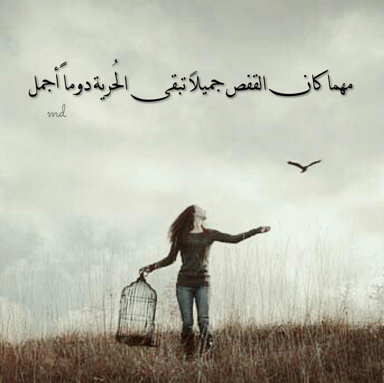 الحريه اجمل هاااانت خلاص Words Shadow New Beginnings