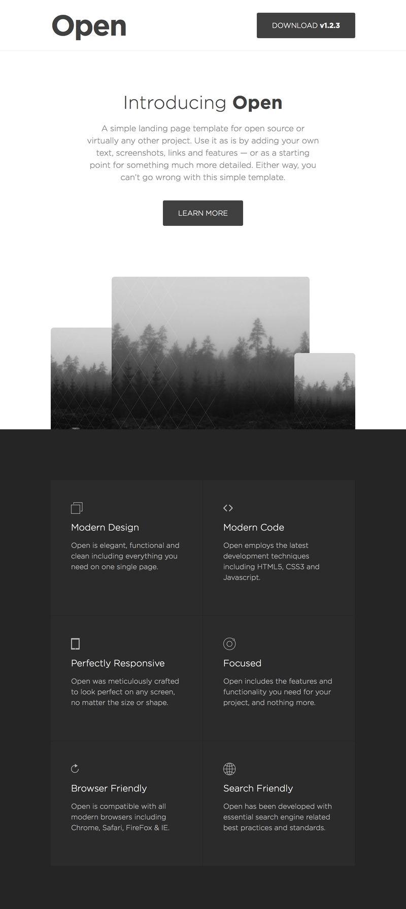 Simple, Elegant, Website Templates by Leeflets | Web platforms ...