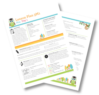 40 Weeks Of Step By Step Daily Pre K Lesson Plans 3 Year Old Lesson