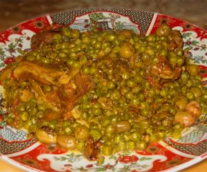 gamila mit lamm und erbsen | marokkanisch essen | marokko rezept ... - Marokkanische Küche Rezepte