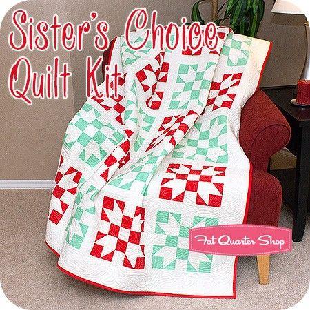 Sister's Choice Quilt KitFeaturing Scrumptious by Bonnie & Camille - Scrumptious - Moda Fabrics | Fat Quarter Shop