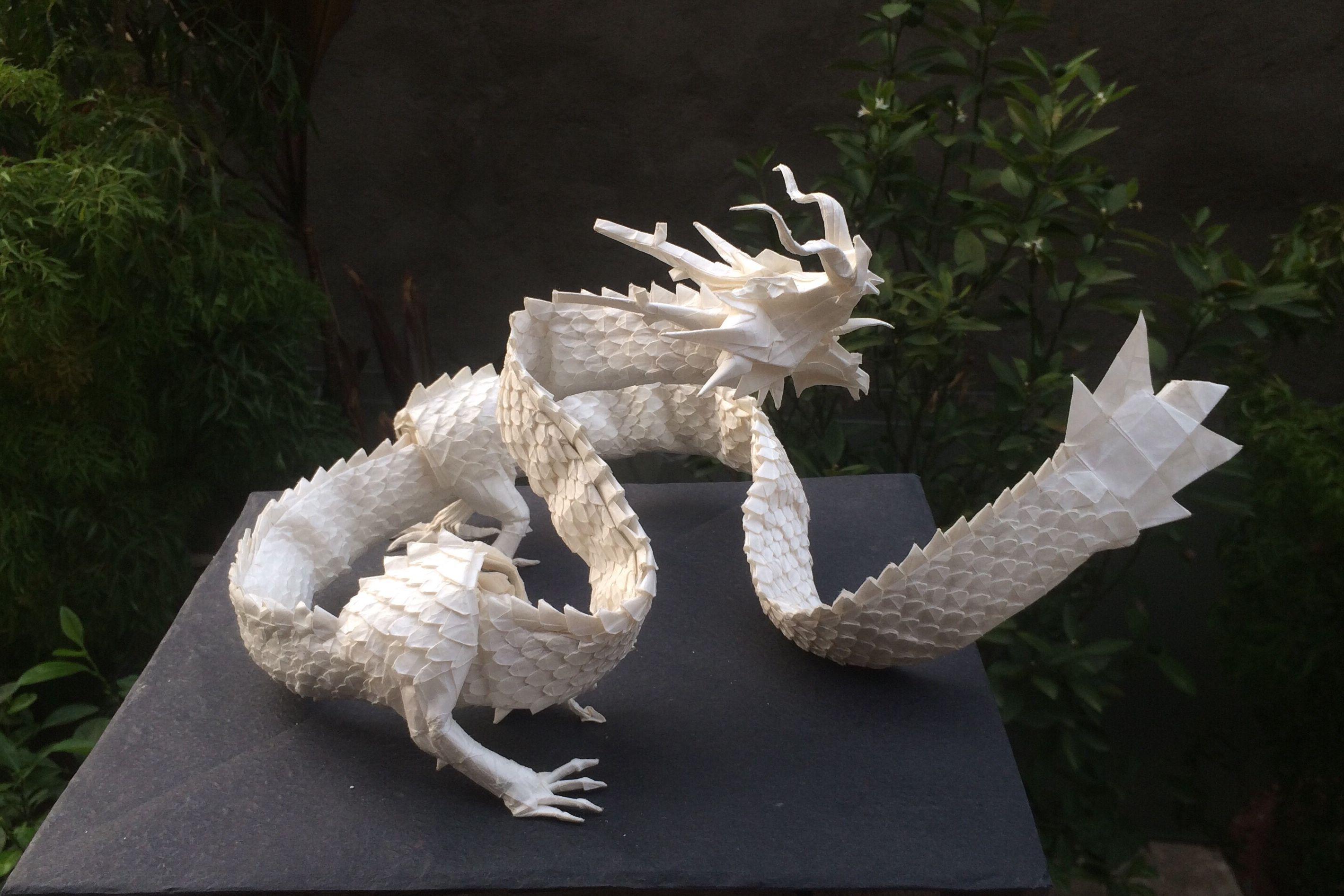Ryujin 3 5 Origami Paper Crafts Dragon