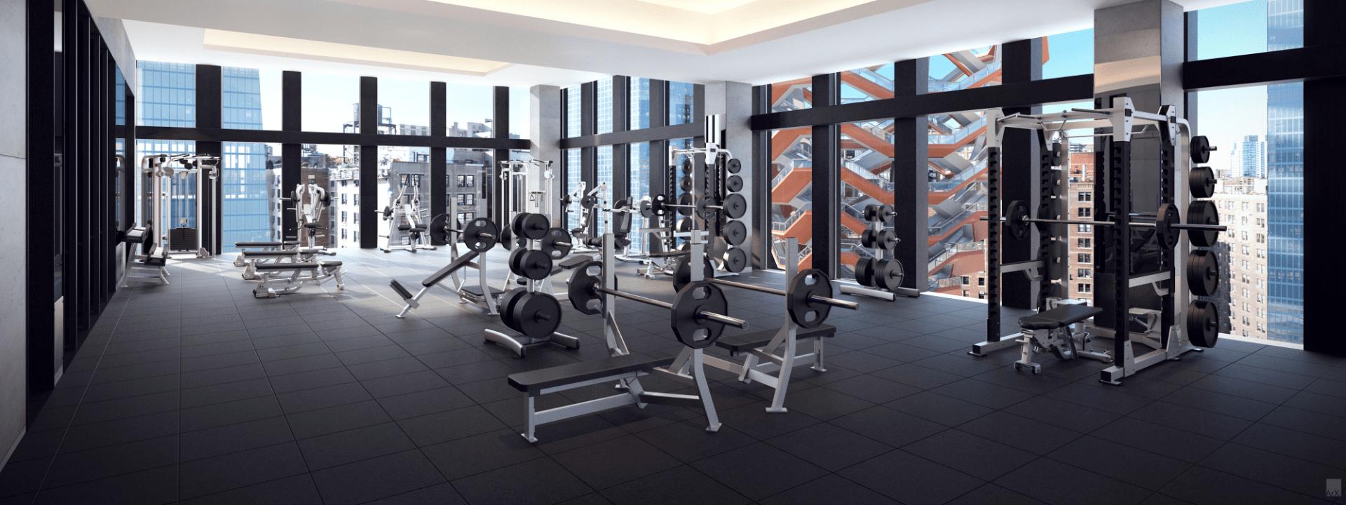 Midtown West Fitness Club Hudson Yards Fitness Club Equinox Fitness Indoor Outdoor Pool